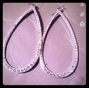 Jewelry - Tear Drop Hoop Earrings